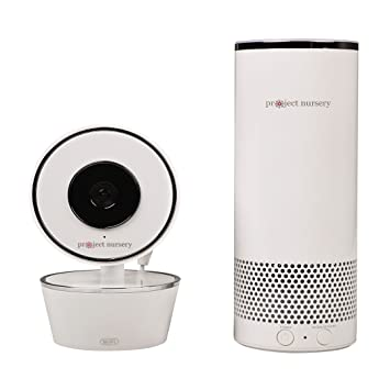224d83801ce Image Unavailable. Image not available for. Color  Project Nursery Smart  Speaker with Amazon Alexa and Smart Baby Monitor System