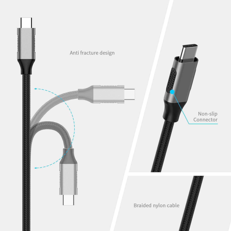 Samsung S9//S8//Note 9 lention Adaptateur USB C vers HDMI Chromebook 13//15 Compatible MacBook Pro Surface Book 2//Go Or Rose 2018 Nouvel iPad Pro et Mac Air Plus Thunderbolt 3 Ports