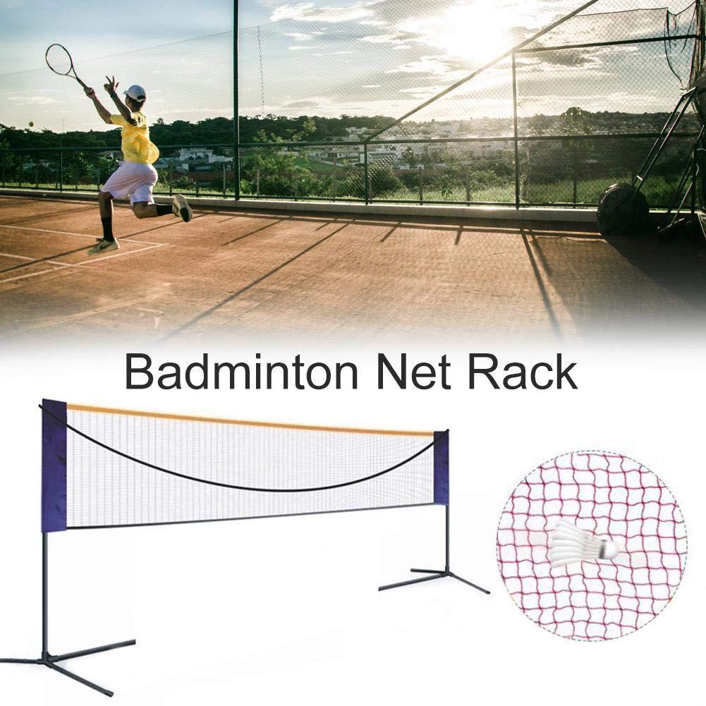 Und Innenbereich SUPERLOVE Federballnetz Badminton-Netz Wearable Badminton-Netz Mit Verstellbaren H/öhen Faltbarer Volleyball Und Tennisnetz F/ür Den Au/ßen