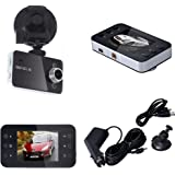 Lonshell 2.7'' Screen Full HD 1080P Car DVR Vehicle Camera, 120°ultra Wide Angle Video Recorder , Dashboard Cam with G-sensor and night vision (Black )