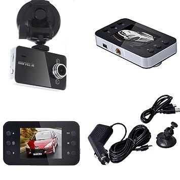 Harpily Camara Coche 2.7 Pulgadas LCD Full HD 1080P DVR Vehículo Cámara Video Grabadora Ángulo de Visión120 Grados: Amazon.es: Electrónica