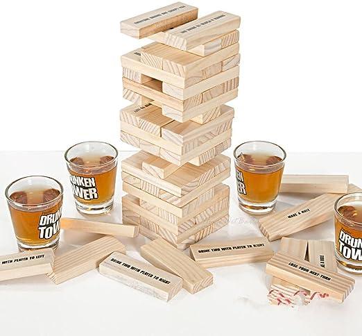 Homeware Deluxe Drunken Tower The A Piece - Juego de bebidas para adulto: Amazon.es: Hogar