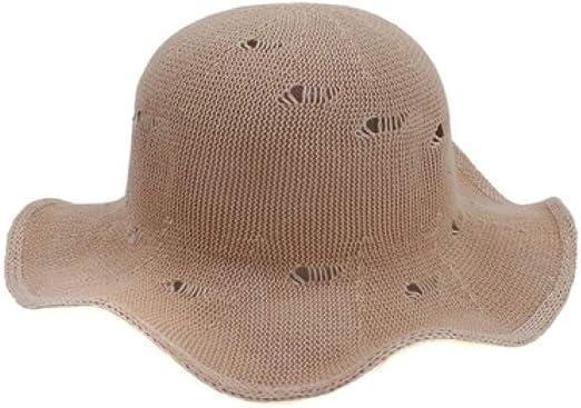 KFEK Gorra Domo de protección Solar Sombrero de Pescador Femenino ...