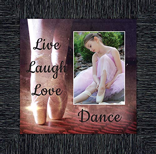 Ballet, Dancer Gifts for Teen Girls or Women, Personalized Dance Picture Frame 10X10 6356CH