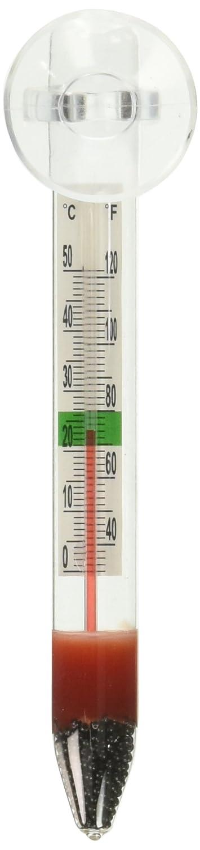 Marina Thermomètre avec Ventouse pour Aquariophilie 11201A1