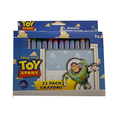 Disney's Toy Story Crayons - 1 Pack of 32 Crayons: Toys & Games