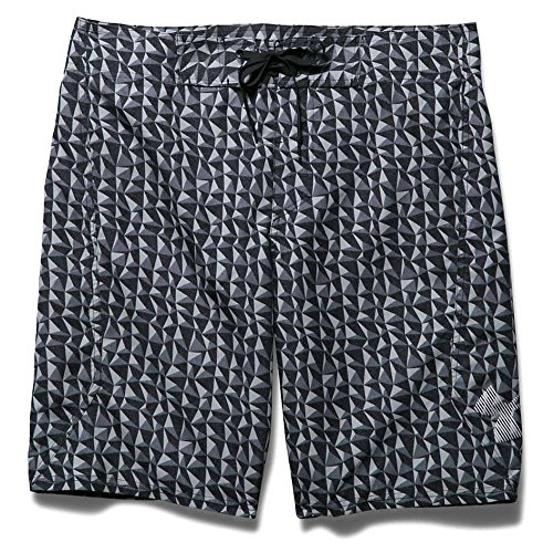 Under Armour Bergwind Boardshort - Men's Amalgam Gray - Mens Swimwear Discount