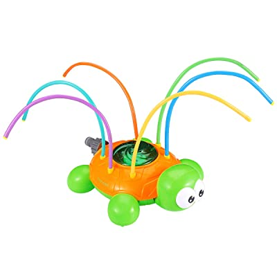 Toyvian Sprinkler for Kids,Turtle Pool Toy Sprinkler Water,Water Wiggles Toy Swimming Pool Garden Lawn Outdoor Play: Toys & Games