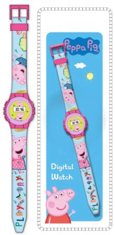 Amazon.com: Peppa Pig Girl Wrist Digital Watch Reloj JAV: Cell Phones & Accessories
