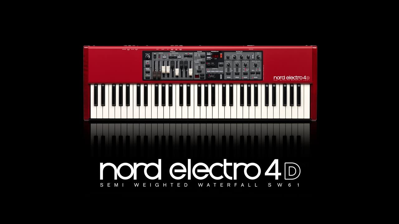 Nord - Electro 4d sw61 piano profesional