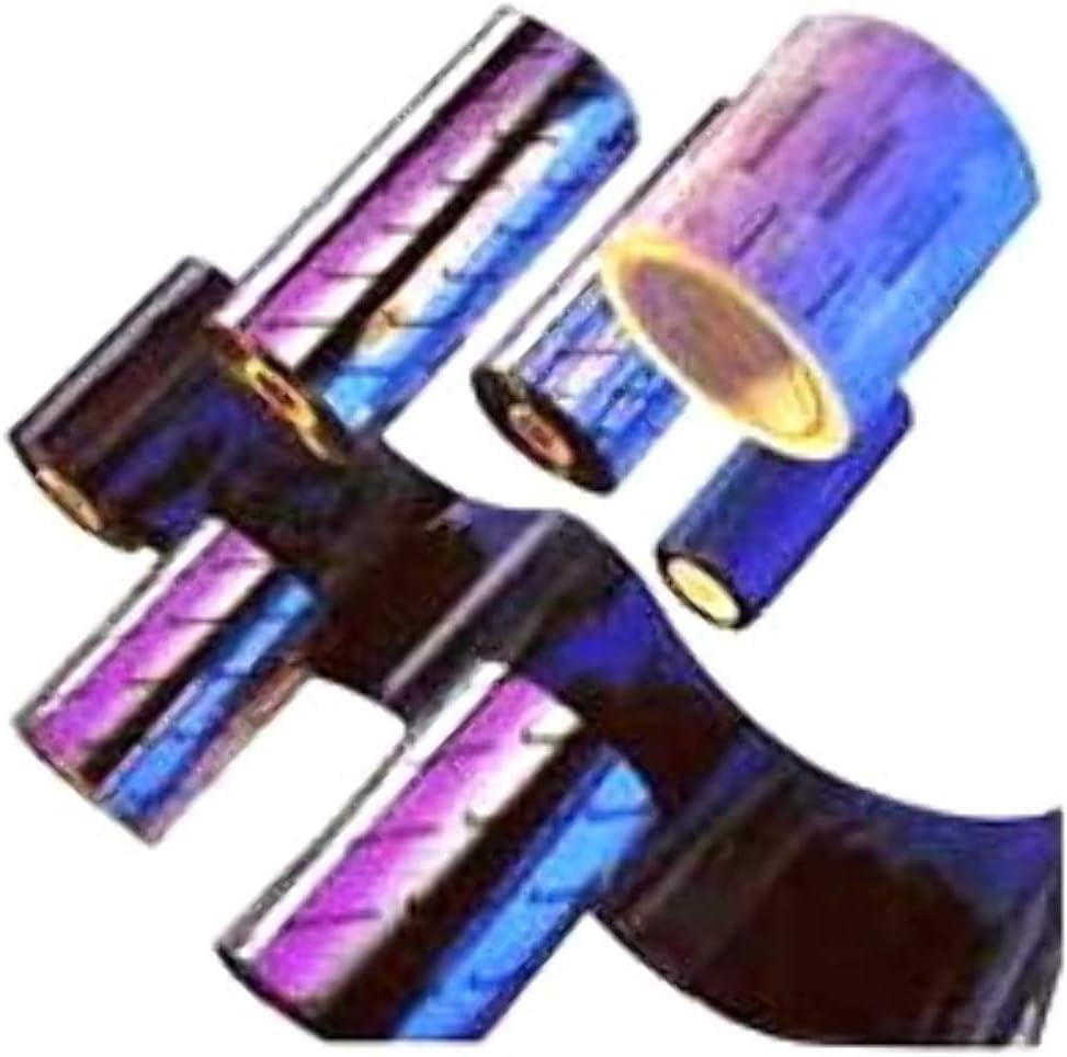 Nero Nastri per Stampante Zebra 2300 Wax 110 mm x 300M Trasferimento Termico Confezione da 12
