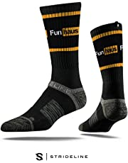 Strideline Rooster Teeth Premium Crew Socks, One Size