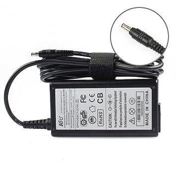KFD 60W Adaptador Cargador para portátil Samsung Series 270E 275E 300E 305E 350E 355E 365E 470R 510R 550P 600B 680Z 880Z 940Z Samsung ATIV Book ...