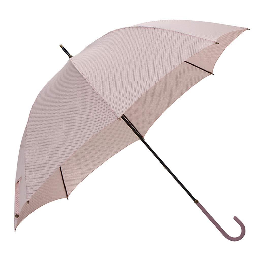 Parapluie à poignée Longue 8 Parapluie en os Pluie et Pluie Double Protection Contre Le Soleil Parasol Creative Student Parasol (Couleur : B)