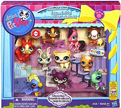 Littlest Pet Shop Limited Edition Collector's 10-Pack [Horse, Panther, Dachshund, Cockatoo, Guinea Pig, Hamster, Turtle, Fox, Bear and Bunny]