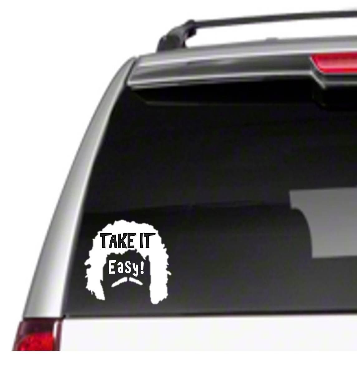 Take it Easy Car Vinyl Sticker Decal 6 nacho libre jack black funny movie *I4* Decal Frog