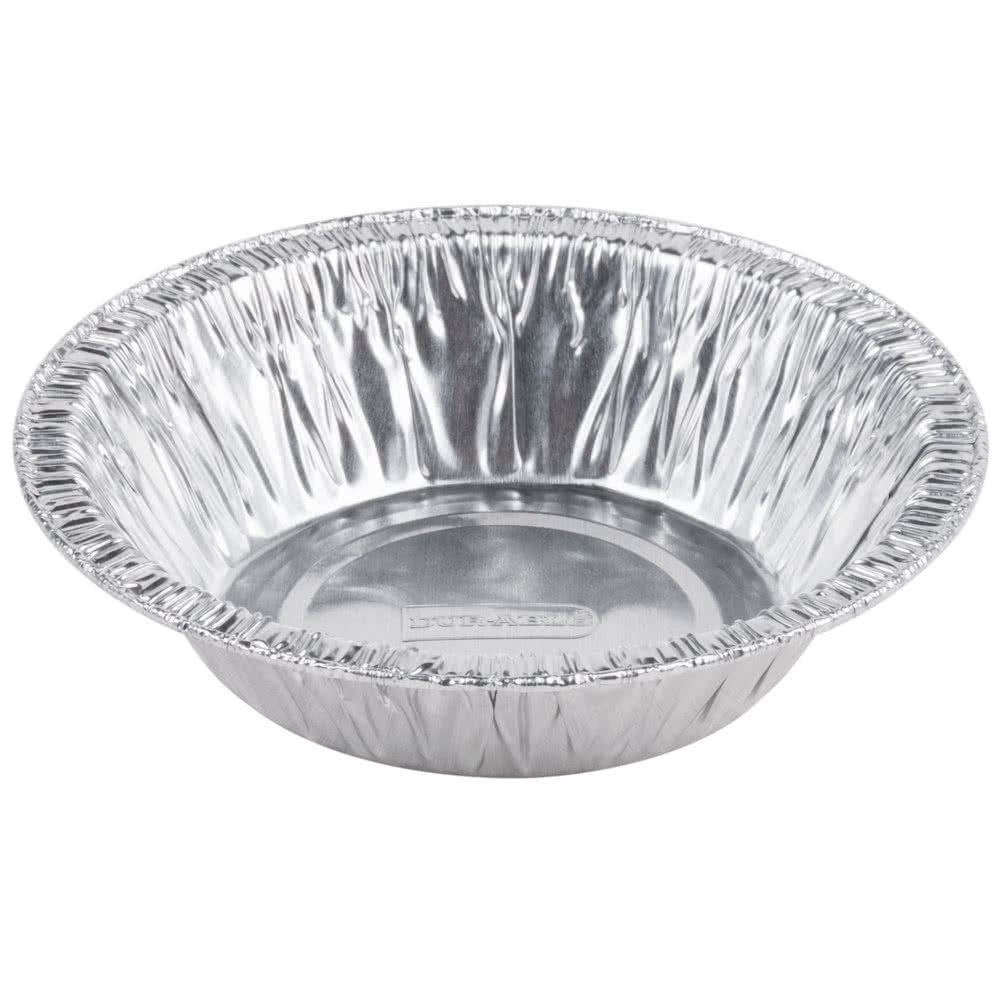 Sherri Lynne Home Disposable 5'' Aluminum Foil Tart/Pie/Quiche Pans, 50 Pack