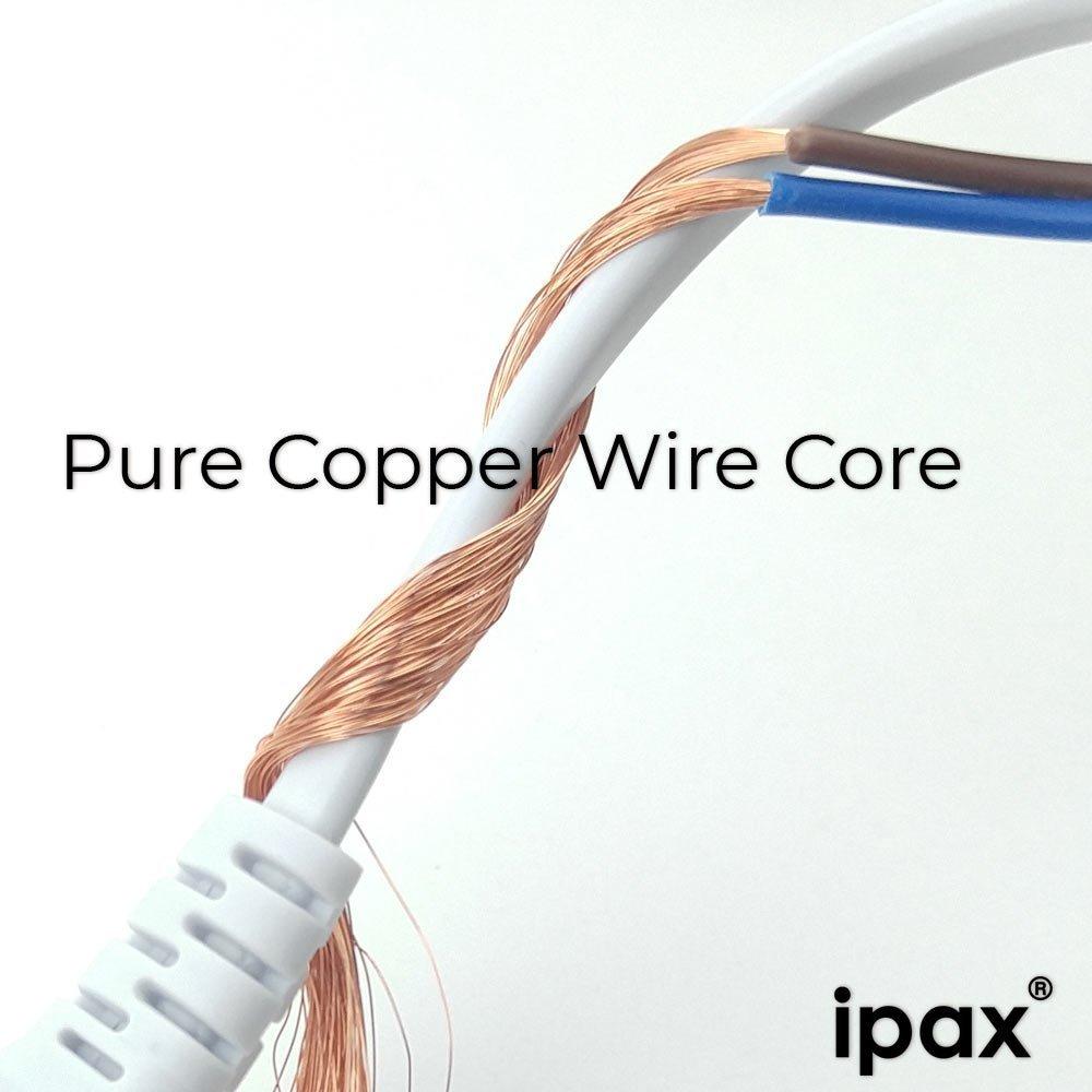 Amazon.com: 10Ft Long Copper Wire AC Power Cord for VIZIO TV UHD LED Smart HDTV Model E221-A1 E231-B1 E24-C1 E280-A1 E601i-A3 SmartCast E43-E2 LCD Monitor ...