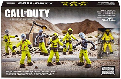 Mega Bloks Call of Duty Hazmat Zombies Nuketown Mob Playset (Mega Bloks Call Of Duty Tactical Helicopter)