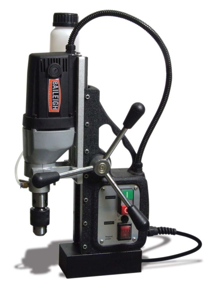 Baileigh MD-3500 Magnetic Drill, 110V, 2'' Cutter Depth, 1-3/8'' Maximum Annular Cutter Capacity