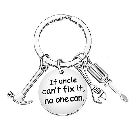 Amazon.com: Llavero para el día del padre, regalo para tío ...