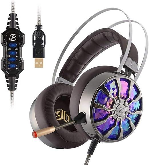 Mueka Cascos Gaming PS4,Beexcellent Stereo Brillan Auriculares con ...