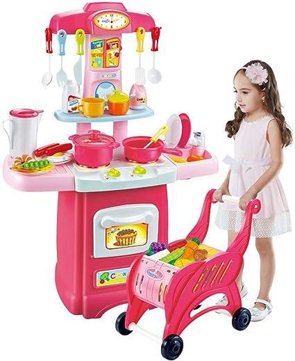 Amazon.com: Kimanli Children\'s Toys Electronic Kitchen Set ...