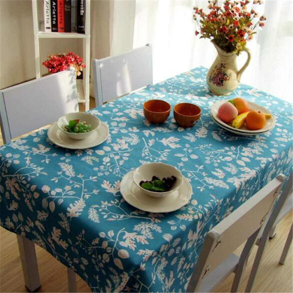 LYJZH Mantel de Tela Rectangular Mantel jardín Tela Mesa de café Mesa de Noche Cubierta de Tela paño 90 * 90 cm