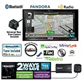 Pioneer in Dash Double Din AVIC-7200NEX Navigation DVD Receiver with 7' Touchscreen, Kenwood CMOS-22P Backup Camera and a SiriusXM SXV300v1 Tuner, Antenna and a Free SOTS Air Freshener