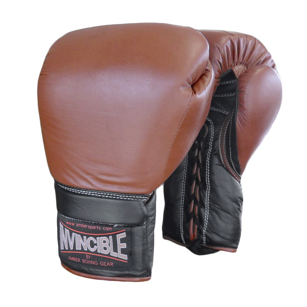 Amber Sporting Goods Invincible Laceup Gloves