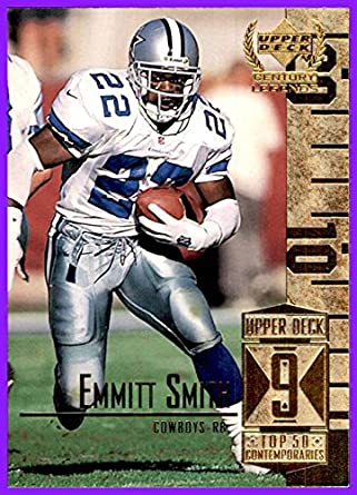 1999 Upper Deck Century Legends by UD  59 Emmitt Smith HOF DALLAS COWBOYS  at Amazon s Sports Collectibles Store 46271521d
