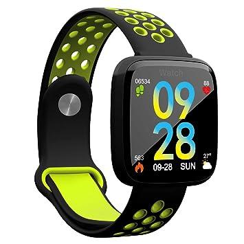 TDOR Oferta Cyber Monday Smartwatch Hombre Android e iOS Reloj Inteligente Mujer, Color Verde