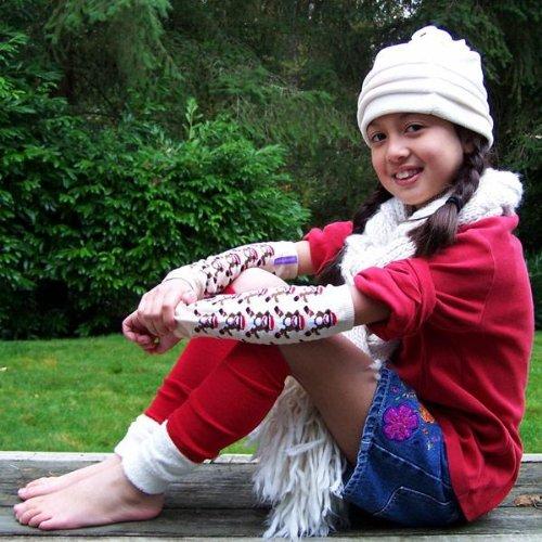 Kids or Adults Huggalugs Leghuggers or Arm Warmers for Babies Santas Helper