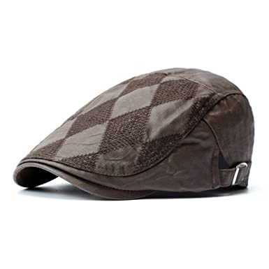 BOLAWOO Unisex Beret Primavera Otoño para Mujer Británica Hombre ...