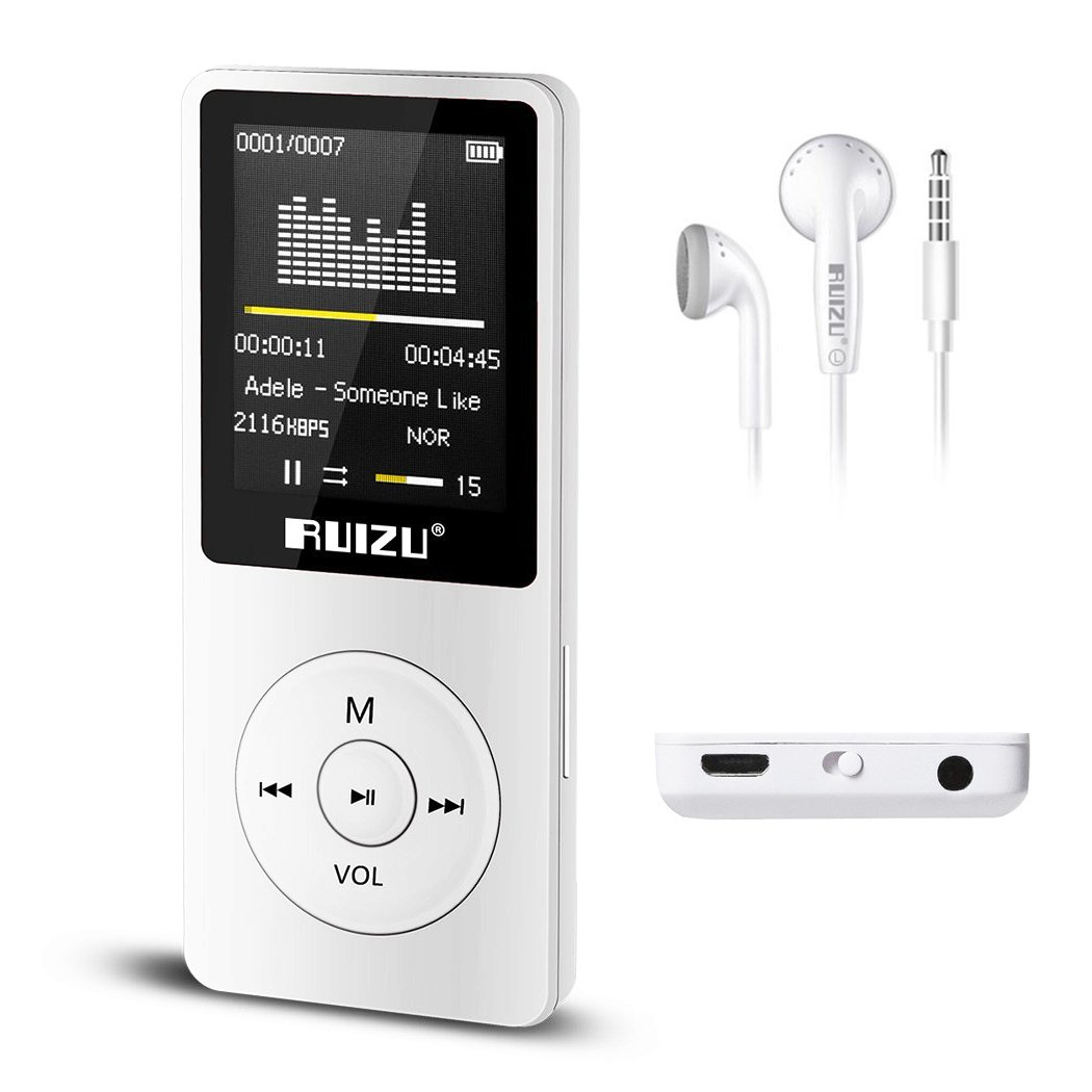 Amazon.com: Eleston 8GB Portable MP3/MP4 Player, 70 Hours Music Playback  Lossless Sound with 1.8inch Screen Including Earphones Support Up to 64GB  TF Card ...