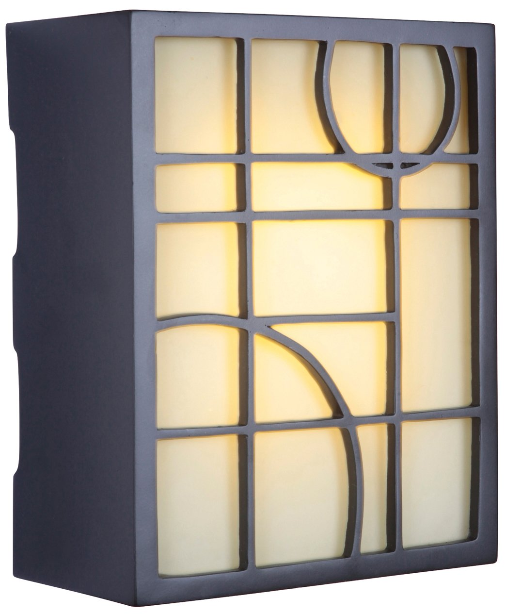 Craftmade ICH1660-OB Geometric Lighted Chime by Teiber