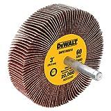 DEWALT DAFE1H1810 3-Inch by 1-Inch by 1/4-Inch HP 180g Flap Wheel, 10 Pack