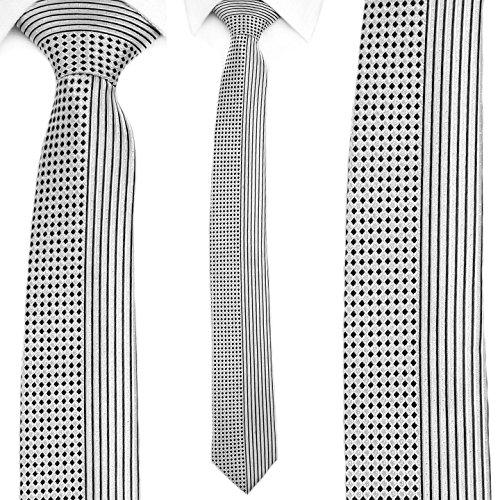 brand new 60223 8f3e6 Ties N Such - Cravatta - Uomo grigio Grey Taglia unica ...