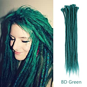 Amazoncom Aosome 20pcs20inch Crochet Dreadlocks Extensions 100