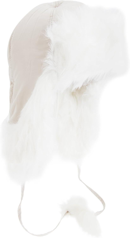Unisex//Adulti Cappello Tipo Aviatore con Paraorecchie e Profili in Pelliccia Sintetica
