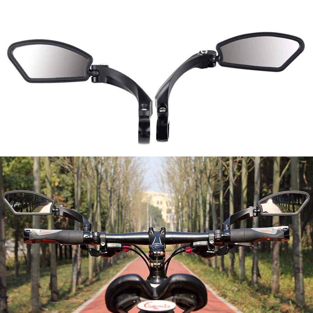 Safety Hafny Bicycle Rearview Mirrors 360° Rotatable Mirror Handlebar Cycling