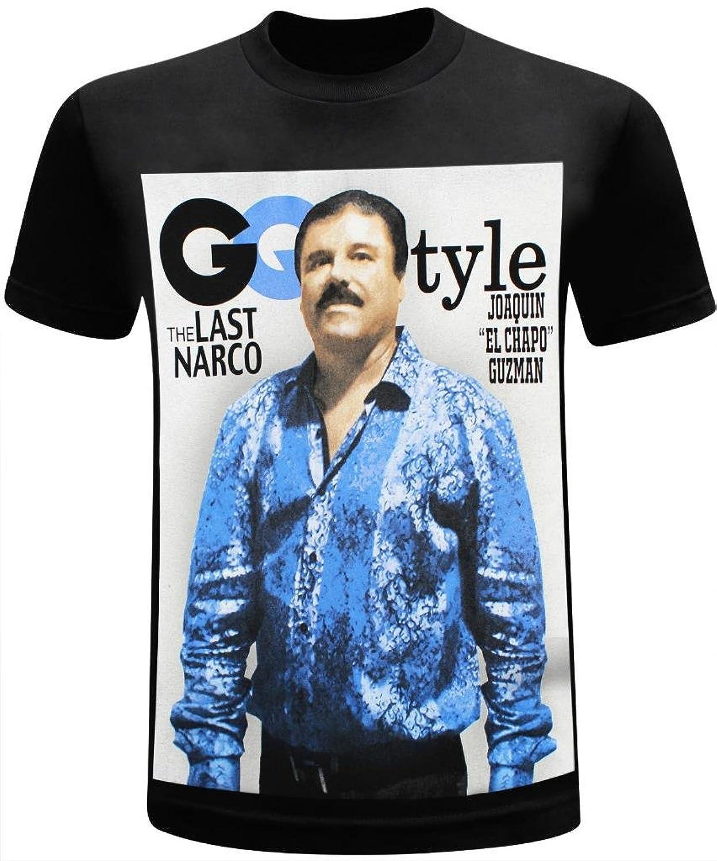 El chapo guzman style men 39 s funny t shirt xx large for Chapo guzman shirt brand
