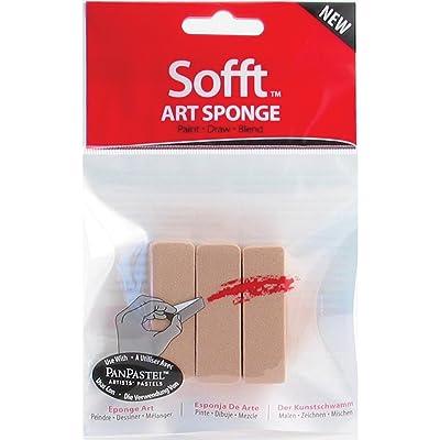 Colorfin PanPastel Sofft Art Sponges 3/Pkg-Bar