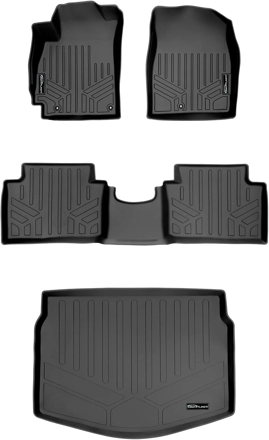 2004 Passenger /& Rear Floor GGBAILEY D4789A-S2A-GY-LP Custom Fit Car Mats for 2003 2006 Ford Expedition Grey Loop Driver 2005