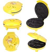Animal Mini Waffle Maker Mini Cake Pop Maker Makes 7 Fun Different Shaped Pancakes Electric Non-Stick