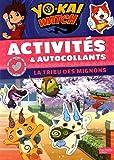 Yo-Kaï Watch - Activités et autocollants La tribu des mignons