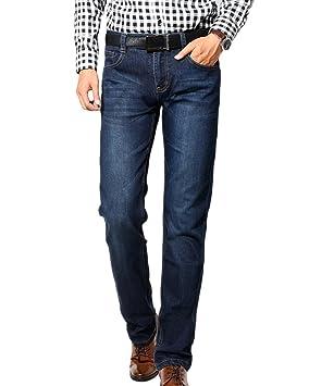 Guiran Hombre Skinny Slim Fit Delgados Jeans Pantalón Jogger ...