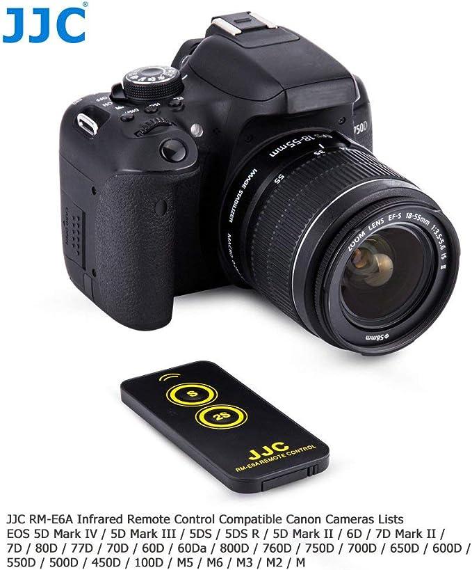 JJC Infrarrojos Mando a Distancia para Canon EOS Digitales Réflex ...