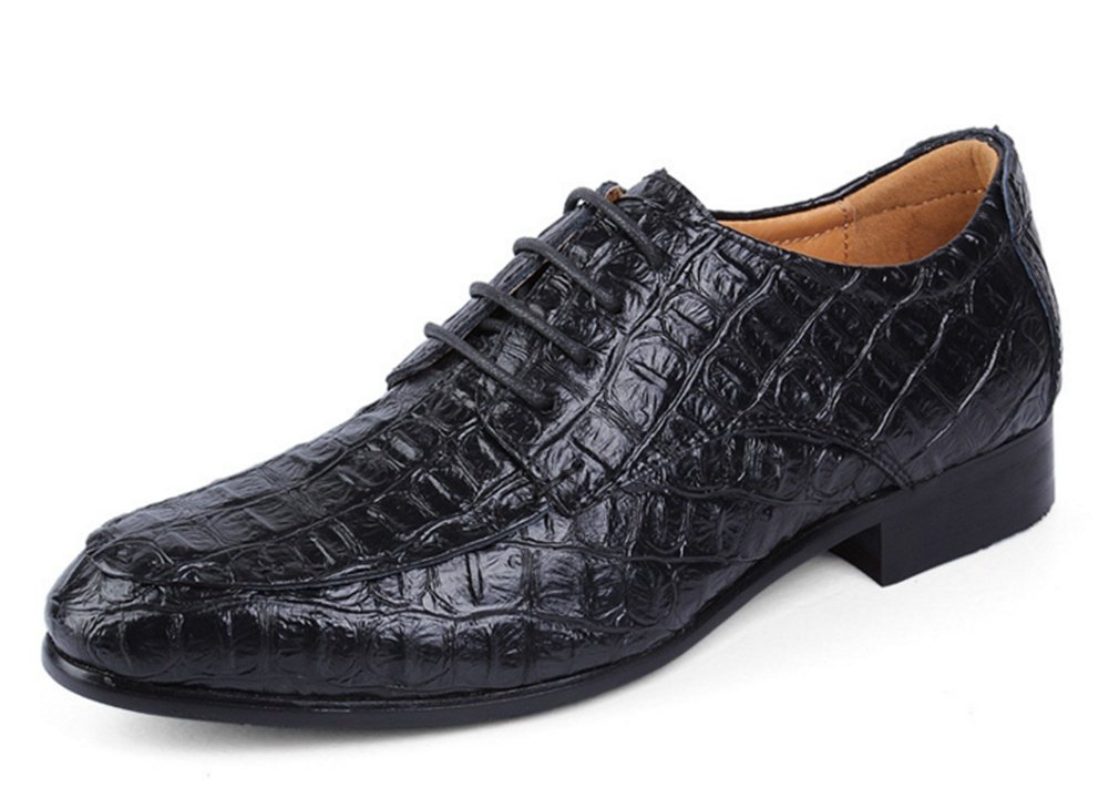 XIE Zapatos de vestir de los hombres Four Seasons Zapatos de los hombres de negocios Plus Size Zapatos casuales de los hombres 35-49, black, 47 47|black
