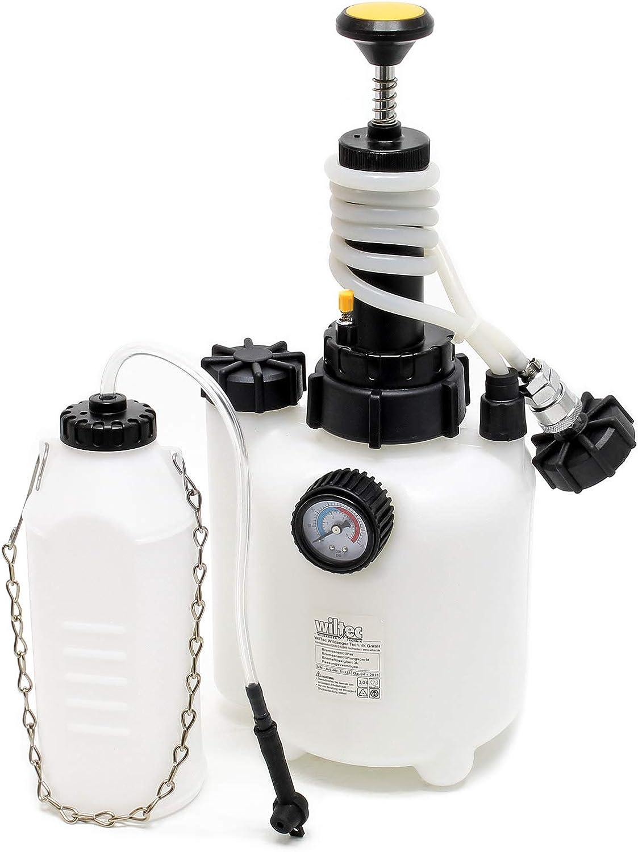 Bremsenentlüfter Bremsenentlüftungsgerät Bremsflüssigkeit 3l Auffangflasche Entlüfter Bremsen Auto